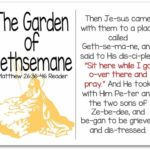Printable Resurrection Story (Part 5 of 7) Garden of Gethsemane (Matthew 26:36-46)