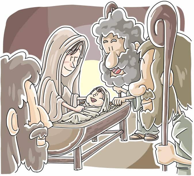 The Birth of Jesus (Sunday School Lesson) Matthew 1-2, Luke 2