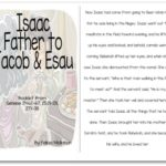 """Isaac, Father to Jacob & Esau"" Bible Story Booklet"