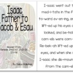 """Isaac, Father of Jacob & Esau"" Story for Early Readers"