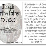 """Joseph: Jesus' Earthly Father"" Story for Early Readers"