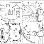 """Ask, Seek, Knock"" Coloring Pages from Matthew 7:7-8"