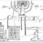 """Philippians"" Bible Book Coloring Page"