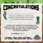 "Free ""Minecraft"" VBS Theme & Curriculum"