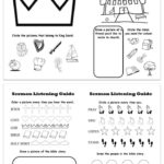 Printable Sermon Listening Worksheets for Kids