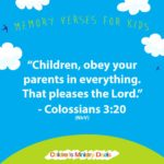 Memory Verse's for Kids Graphics