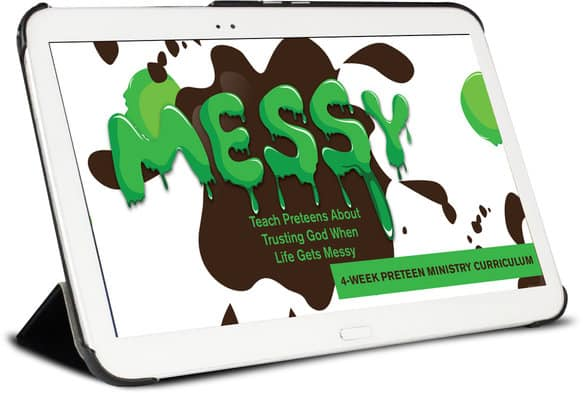 Free Messy Preteen Curriculum