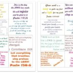 Committed: Family Bible Verses (Free Printable Cards)