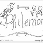 philemon bible book coloring page - Books Bible Coloring Pages