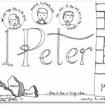 1 peter bible book coloring page - Books Bible Coloring Pages
