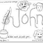3 john bible book coloring page - Books Bible Coloring Pages