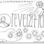 """Revelation"" Bible Book Coloring Page"